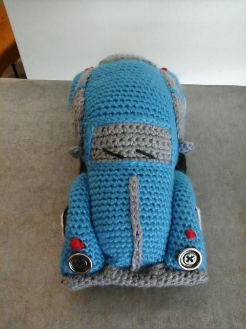 Crawling Beetle -- Crochet pattern by Haekelkeks | 640x480