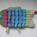 Colorful Fish Bath Baby Mitt pattern