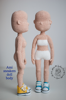 Baby Bean Doll (Free Amigurumi Crochet Pattern, Human Body Doll ... | 320x213