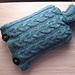 Seamless Hot Water Bottle Cozy pattern
