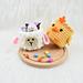 Mini Easter baskets pattern