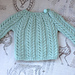 Small Cable Sweater pattern