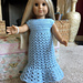 American Girl Little Bluebell Nightgown pattern