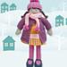 Isabella, Warm heart Dress-Up Doll pattern