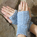 Thistle stitch texting gloves pattern