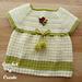 Woodland Baby Dress pattern