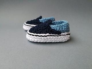 crochet baby vans pattern