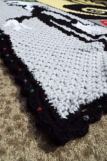 Nightmare Before Christmas Crochet Blanket.Pazscott S Nightmare Before Christmas Afghan Ravelry