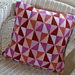 Paper kites cushion cover pattern