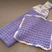 Hanging Towel and Matching Dishcloth pattern