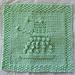 EXFOLIATE! Dalek Cloth pattern