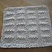 Slabs Dishcloth pattern