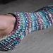 So Simple Toe-Up Sockette pattern