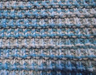 Ravelry Hurdle Stitch Diagonal Dishcloth Lavette Au Point