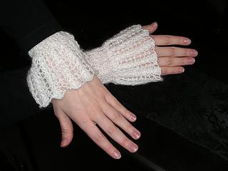 Becca's Lace Cuffs