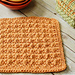 Textured Dishcloth pattern