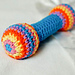 Baby Rattle / Clutch Toy pattern