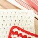 Cluster Stitch Dishcloth  pattern