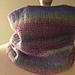 Mock Rib Cowl pattern