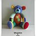 Harlequin Bear pattern