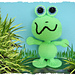 Fink the frog monster pattern