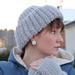 Winter-hat with mitts / Vinterhatt pattern