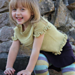 Girlie skirtypants with vest pattern
