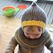Cool Kid Hooded Hat / Artig skrue-hettelue pattern
