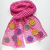 Joyful Circles scarf