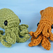 Baby Cephalopods 1: Octopus & Squid pattern