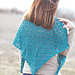 Double Diagonals Shawl pattern