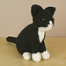 AmiCats Tuxedo Cat pattern