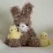 Fuzzy Bunny & Chick pattern