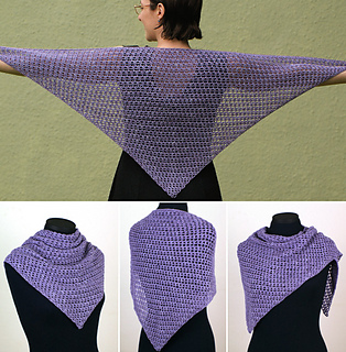 Mesh shawl