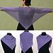 Cozy Mesh Triangular Shawl pattern