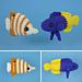 Tropical Fish Set 3 pattern