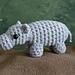 AfricAmi Hippopotamus pattern