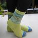Spring River the Socks pattern