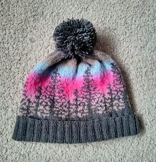 Knitted Alaska AK Pride Tagged Beanie