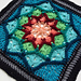 Sun Catcher Afghan Square pattern