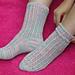 Lightning Lace Socks pattern