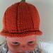 Pumpkin Baby Hats - 2 versions pattern