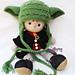 Wrinkle Yoda Baby Hat pattern