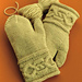 #51 Cabled Cuff Mittens pattern