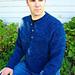 # 255 Henley Neck Down Pullover for Men pattern