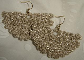 Crochet Kuchi Earrings
