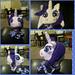 Rare Pony Hat/ Rarity pattern
