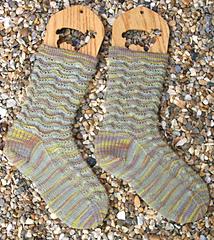 finished fungus socks