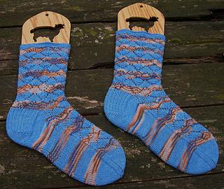 cornish scallop socks