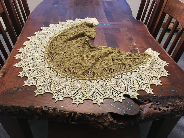 Shawl Patterns I Love August 2020 17